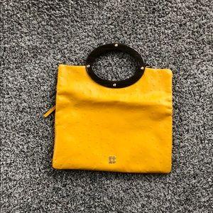 Yellow Kate Spade Clutch